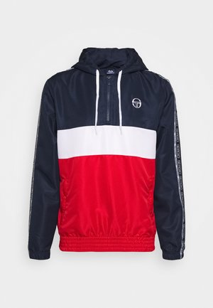 BELUSHI TRACKTOP - Veste de survêtement - navy/red