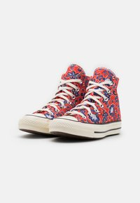 Converse - CHUCK 70 UNISEX - Sneakers hoog - habanero red/egret/rush blue - 1