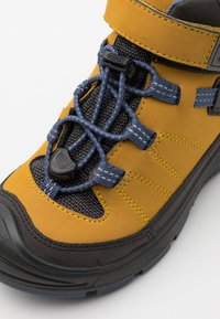 Keen - MID WP UNISEX - Hiking shoes - harvest gold/vintage indigo - 10