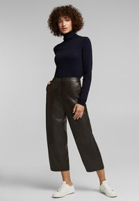 Esprit - FASHION  - Trousers - brown - 0