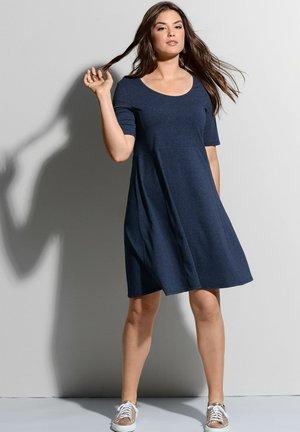 Jersey dress - marineblau