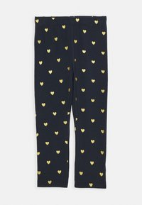 Name it - NMFVIVIAN GLITTER 2 PACK - Leggings - Trousers - dark sapphire - 1