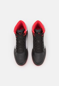 Puma - REBOUND LAYUP UNISEX - High-top trainers - black/white/high risk red - 3