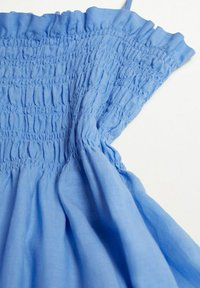 Mango - Maxi dress - blauw - 5
