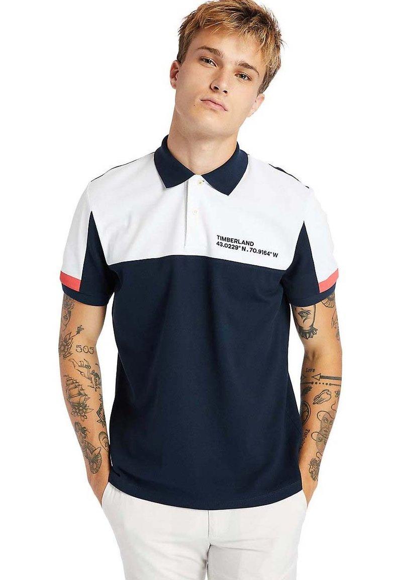 Timberland - MILLERS RIVER  - Polo shirt - dark sapphirewhite