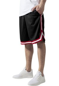 Urban Classics - STRIPES - Pantaloni sportivi - black - 0