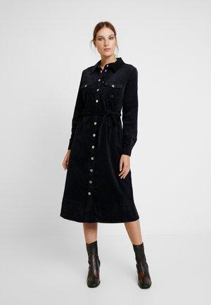 HARLOW DRESS - Shirt dress - black