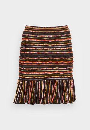 MINISKIRT - Mini skirt - carob