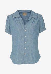 Polo Ralph Lauren - BELLA SHORT SLEEVE SHIRT - Skjorte - medium indigo - 4