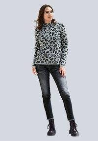 Alba Moda - Sweatshirt - grau,schwarz - 1