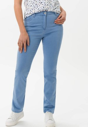 "BRAX DAMEN FIVE-POCKET-HOSE ""INA TOUCH"" - Slim fit jeans - blue (50)"