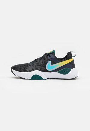 SPEEDREP - Scarpe da fitness - black/lagoon pulse/dark atomic teal