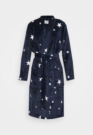 KIMONO STAR GOWN - Dressing gown - navy mix