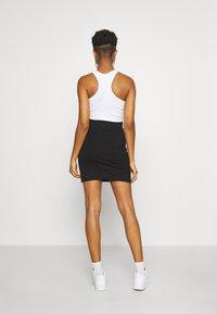 Karl Kani - SIGNATURE SKIRT - Pencil skirt - black - 2