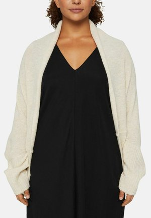 RELAXED FIT - Cardigan - sand