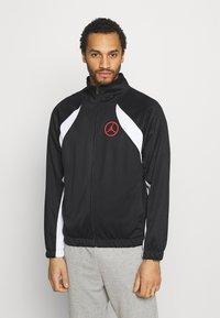 Jordan - Training jacket - black/white/chile red - 2