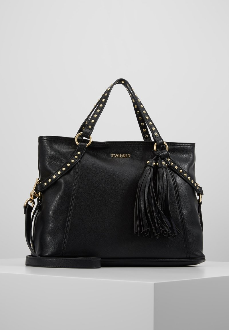 TWINSET - STUDDED STRING - Handbag - nero