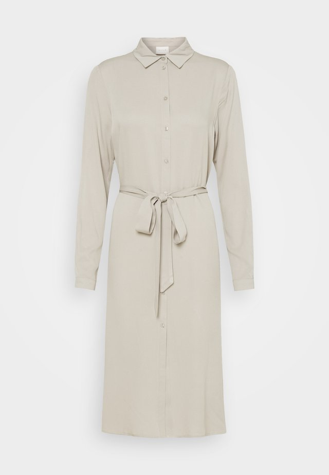VIDANIA BELT DRESS - Shirt dress - dove