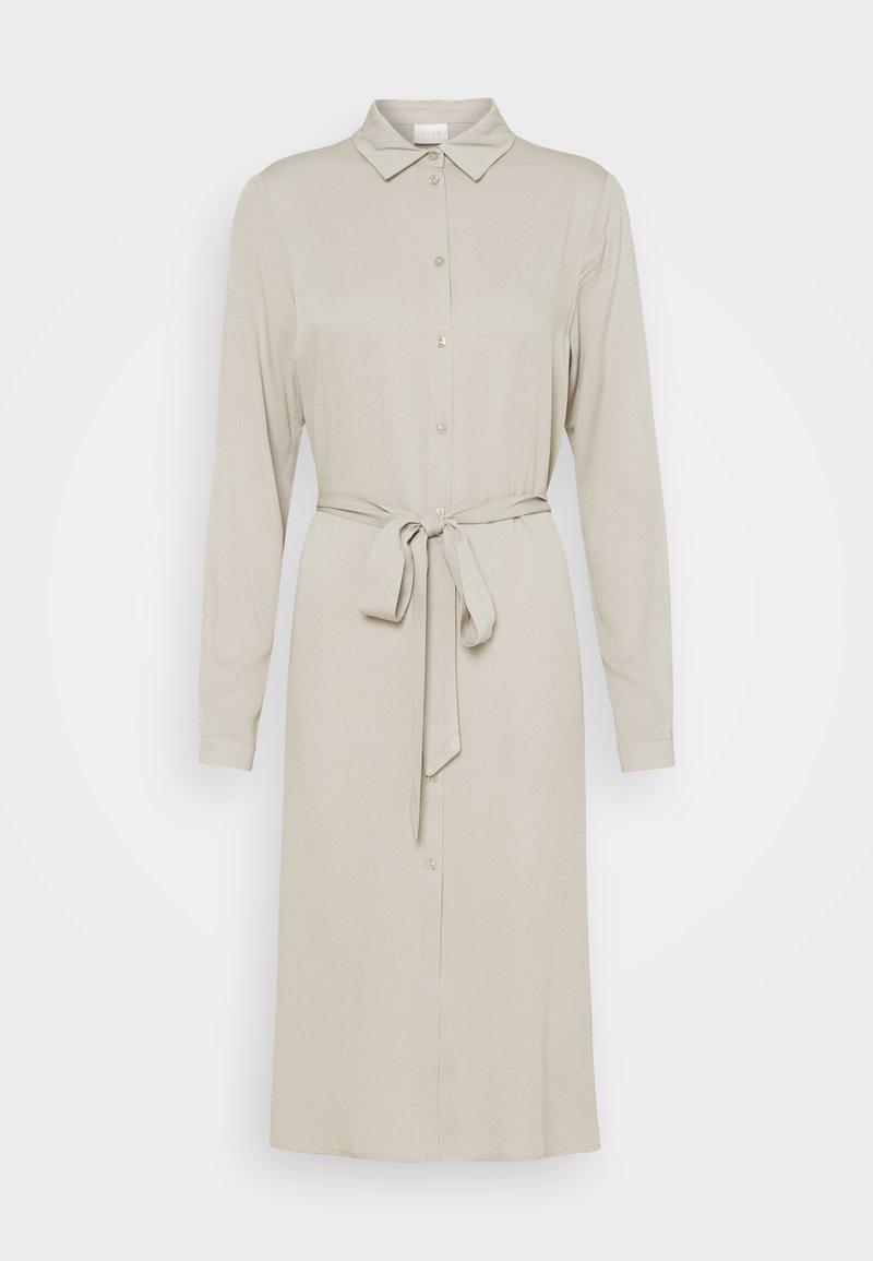 Vila - VIDANIA BELT DRESS - Shirt dress - dove