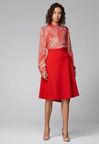 BOSS - VAMOKATO - A-line skirt - red - 1