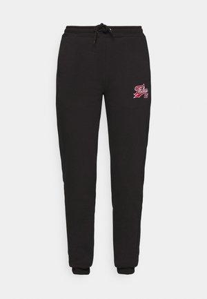 VARSITY JOGGER - Pantalon de survêtement - black
