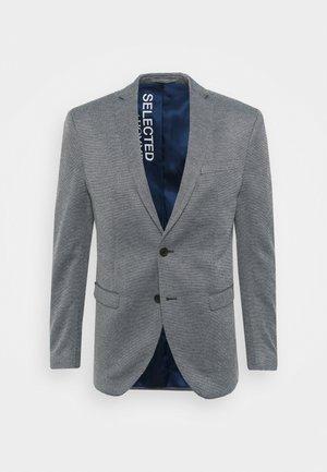 SLHSLIM MORRIS - Blazer jacket - medium blue melange