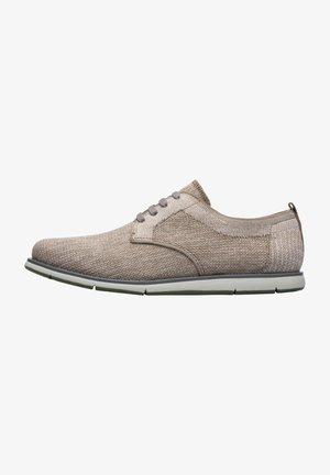 SMITH - Sznurowane obuwie sportowe - hellgrau