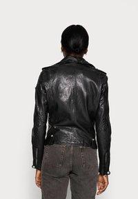 Gipsy - FAMOS - Leather jacket - black - 2