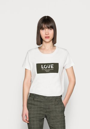 CHÉRIE TEE - Print T-shirt - grape leaf