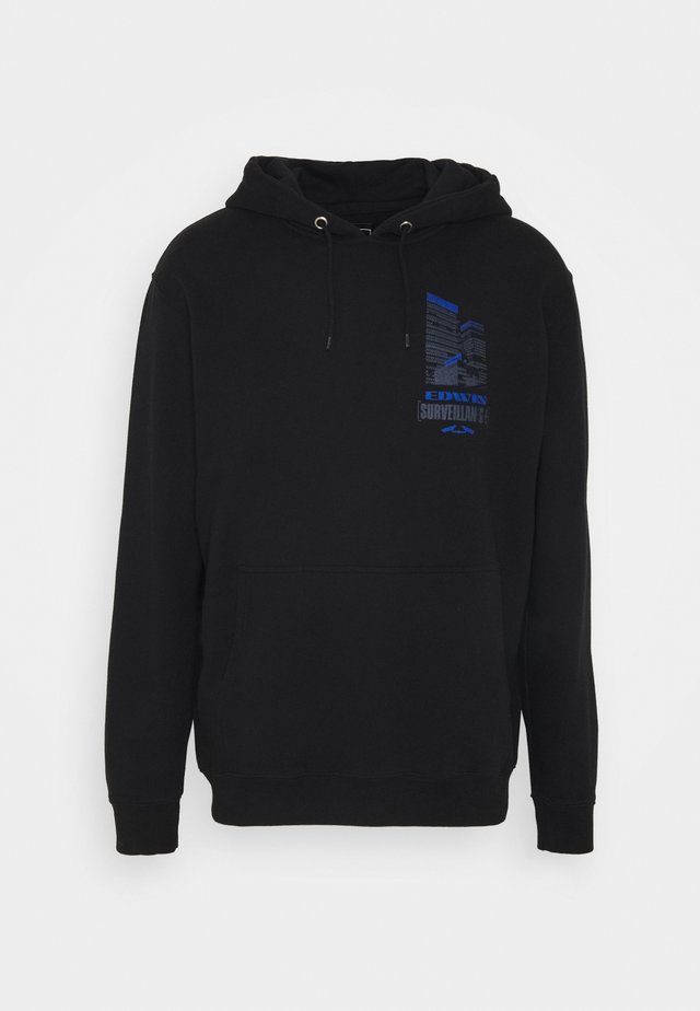 SURVELLIANCE HOODIE - Hoodie - black