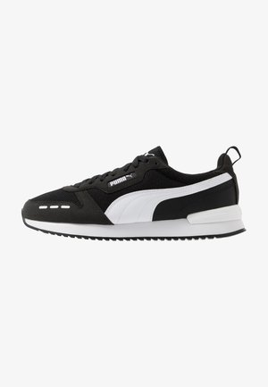 R78 UNISEX - Sneaker low - black/white