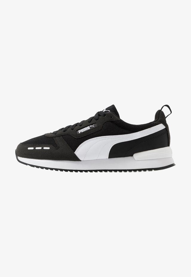 R78 UNISEX - Matalavartiset tennarit - black/white