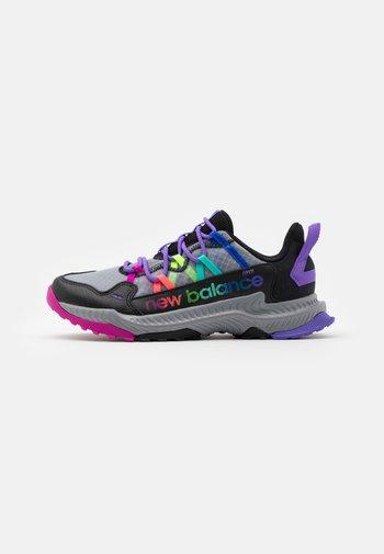 GESHALB UNISEX - Trail running shoes - black/multicolor