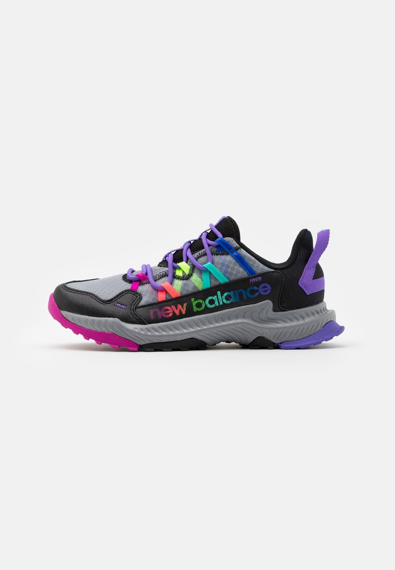 New Balance - GESHALB UNISEX - Běžecké boty do terénu - black/multicolor