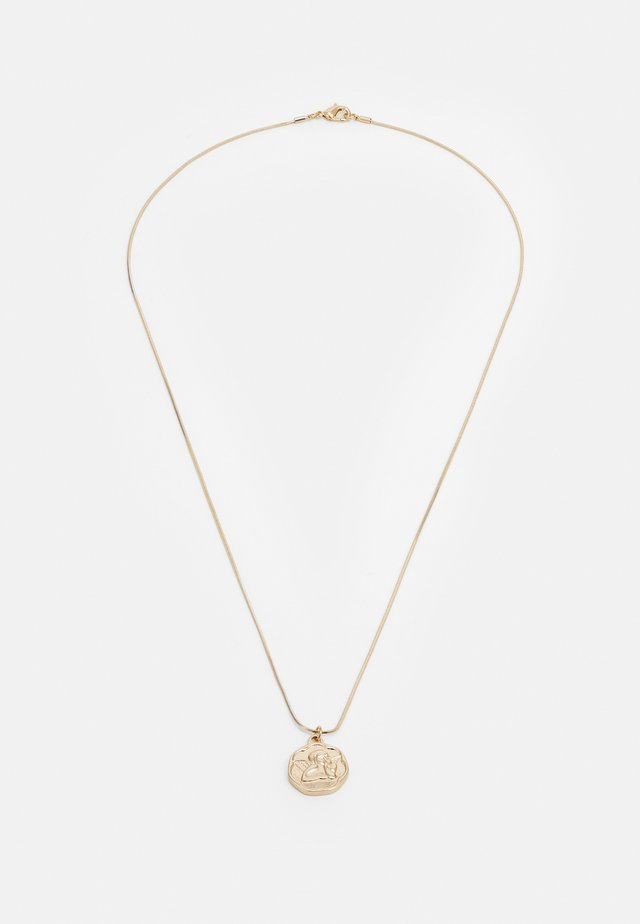 COIN PENDANT - Necklace - gold-coloured