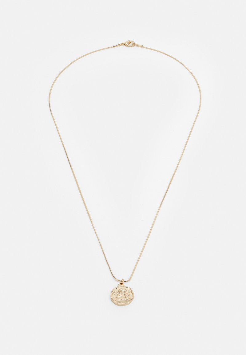 Topman - COIN PENDANT - Necklace - gold-coloured