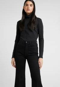 7 for all mankind - FLARE - Flared Jeans - black - 3