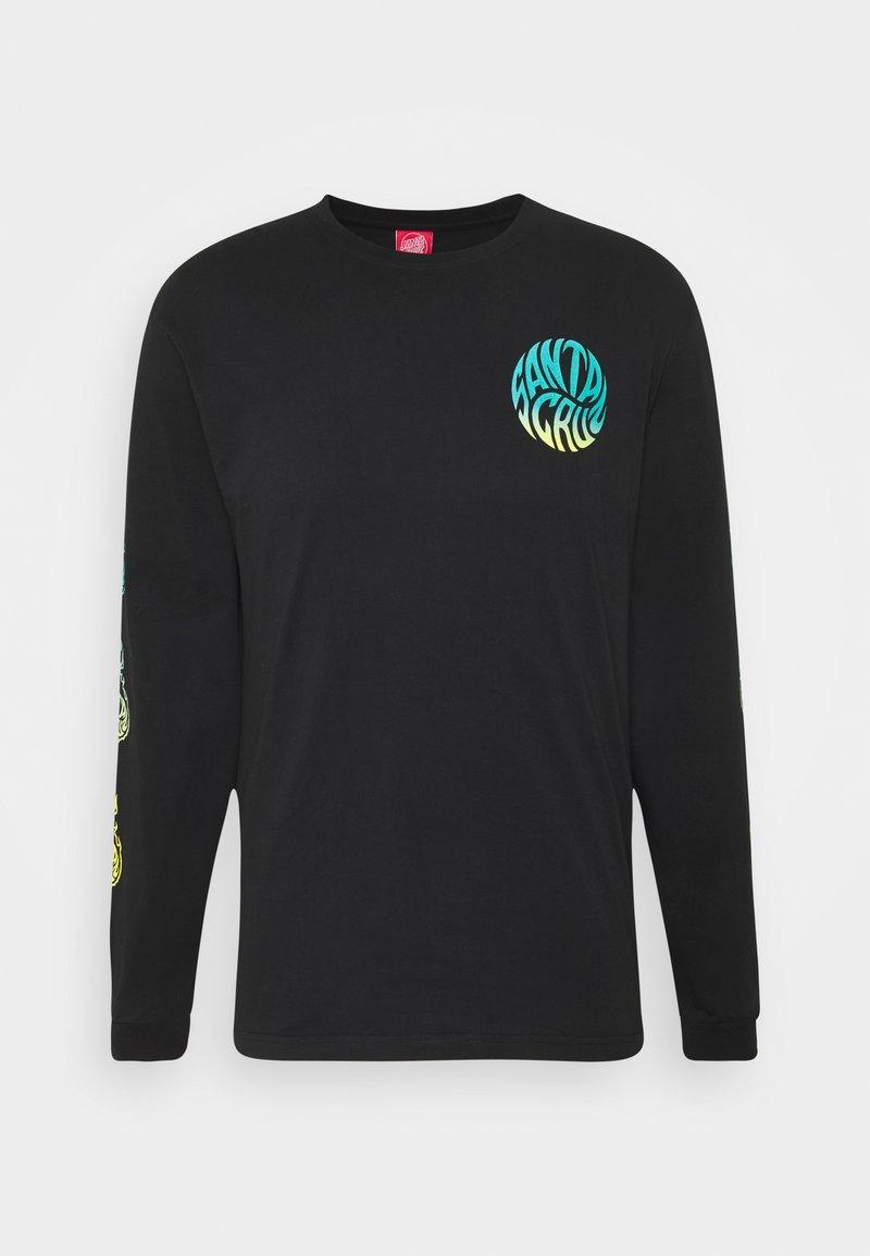 Santa Cruz - UNISEX MAKO - Print T-shirt - black
