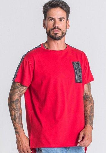 Printtipaita - red