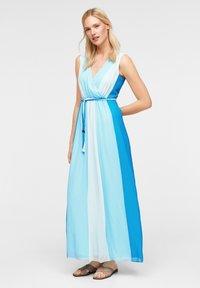 comma - MIT FARBVERLAUF - Maxi dress - turquoise - 0