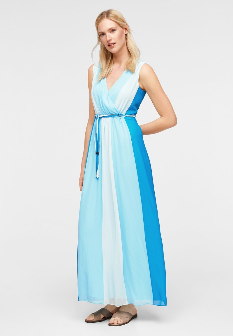 comma - MIT FARBVERLAUF - Maxi dress - turquoise
