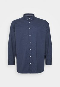TOM TAILOR MEN PLUS - Shirt - navy blue - 0