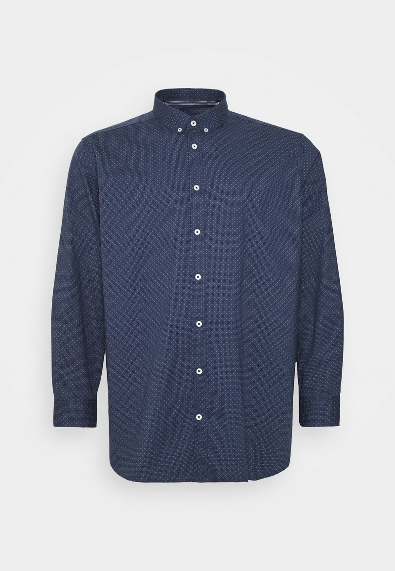 TOM TAILOR MEN PLUS - Shirt - navy blue