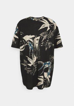 JORMONET TEE CREW NECK - T-shirt con stampa - black