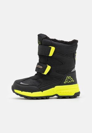 CEKIS TEX UNISEX - Winter boots - black/lime