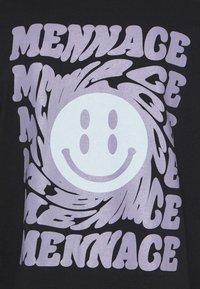 Mennace - UNISEX  - Long sleeved top - black - 2