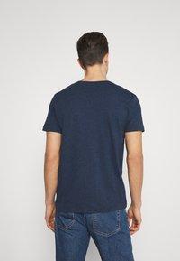 GANT - THE ORIGINAL - T-shirt - bas - marine melange - 2