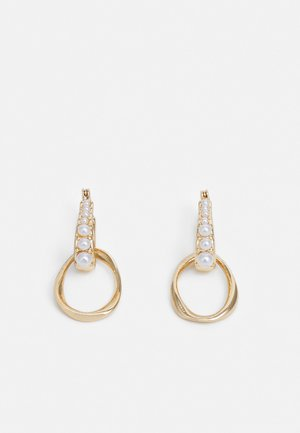 DROP HOOP - Earrings - cream