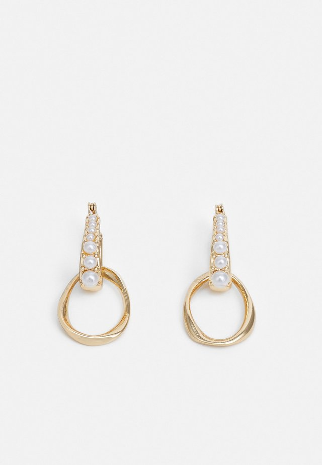 DROP HOOP - Boucles d'oreilles - cream