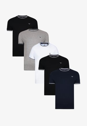 Basic T-shirt - mehrfarbig